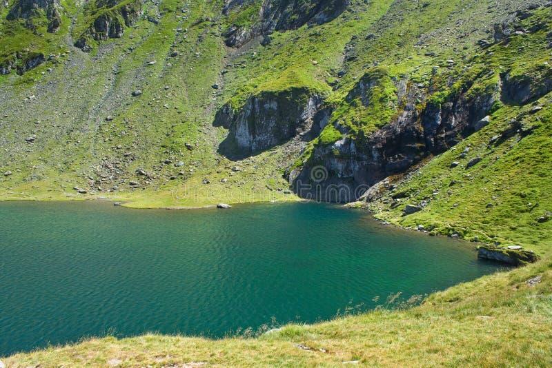 Balea See, Rumänien lizenzfreie stockfotos