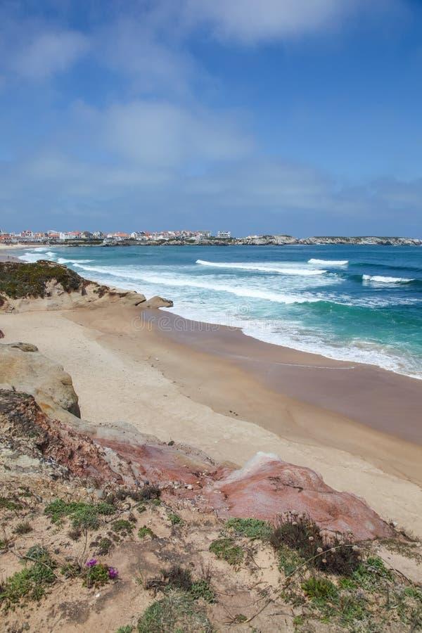 Baleal - Peniche -葡萄牙 免版税库存图片