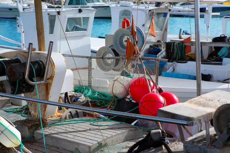 Download Balearic Islands Professional Fisher Boats Stock Photo - Image: 27234666