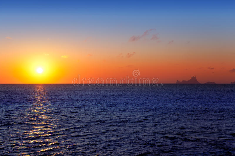 Download Balearic Sunset From La Savina In Formentera Royalty Free Stock Image - Image: 25411106