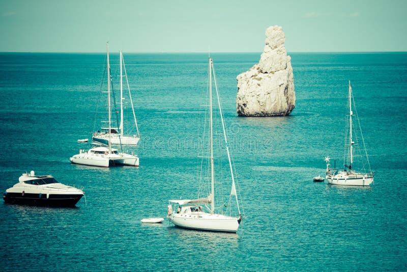 Balearic wyspy - Hiszpania San Miguel, Ibiza - obraz royalty free