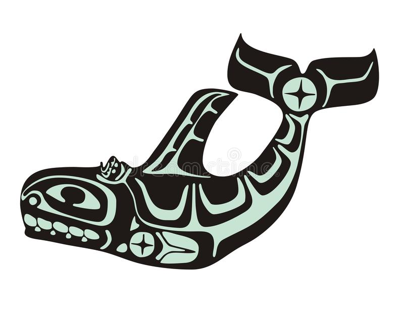 Baleine illustration stock