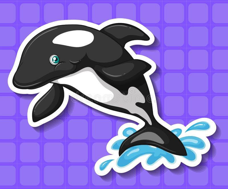 baleine illustration libre de droits