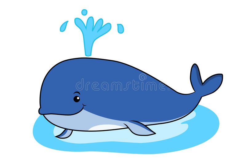 baleine illustration de vecteur