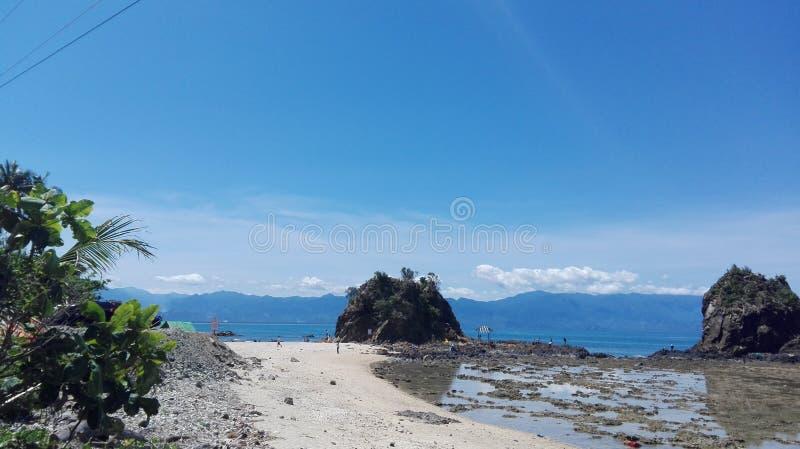 Baler, zorza, Filipiny fotografia stock