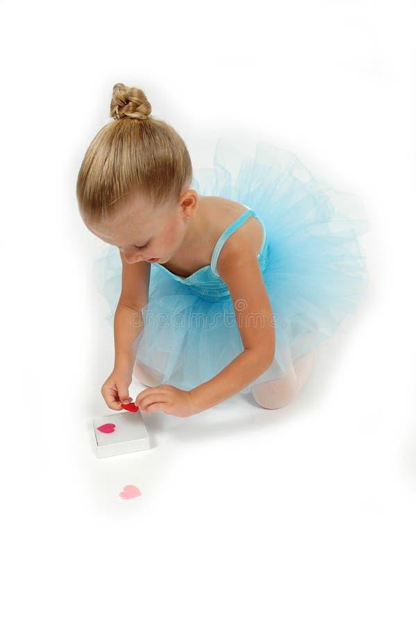 balerin serca obrazy stock