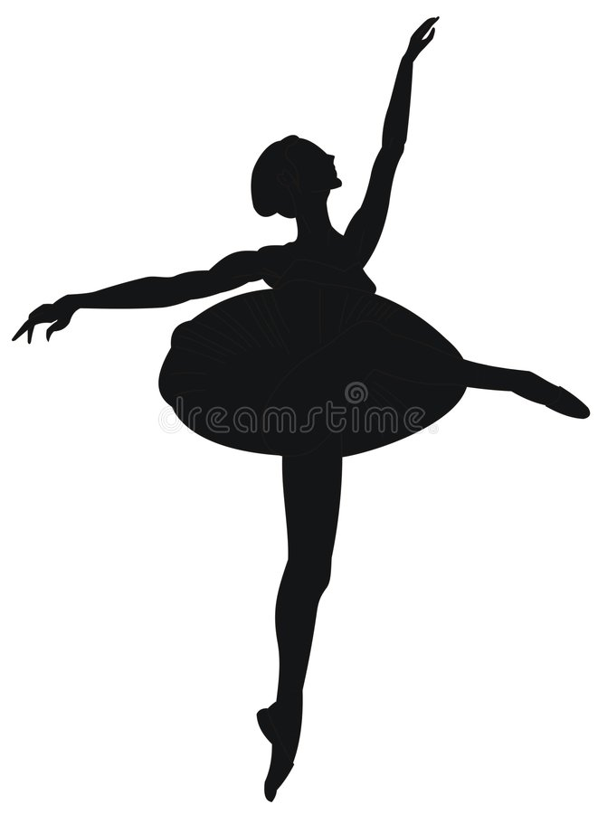 balerina royalty ilustracja