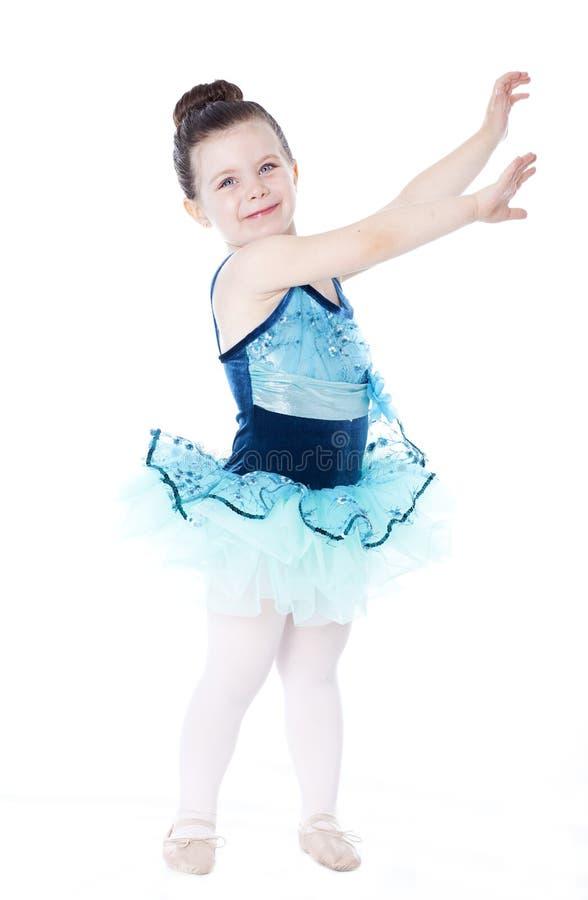 balerina biel piękny odosobniony obraz stock