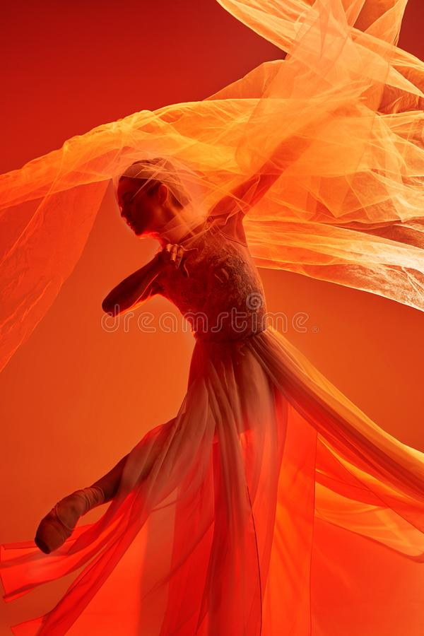 Balerina  Piękno klasyczny balet fotografia royalty free