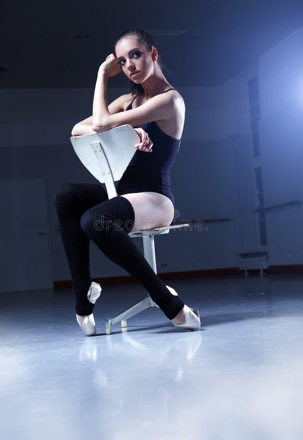 balerina pokój klasowy relaksujący obraz royalty free