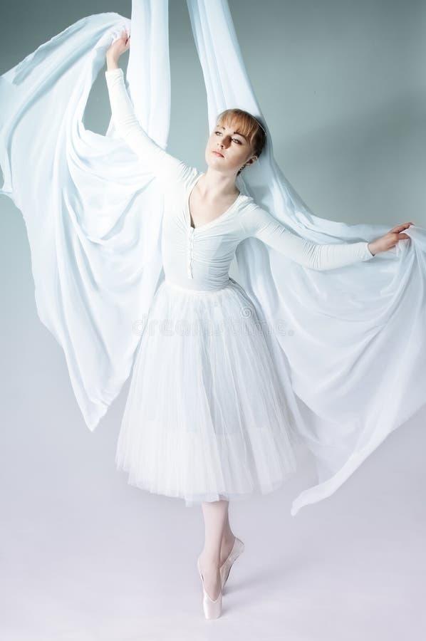 balerina portret fotografia royalty free