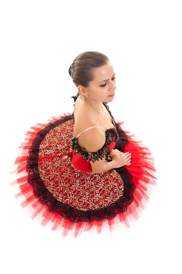balerina sadzająca obrazy royalty free