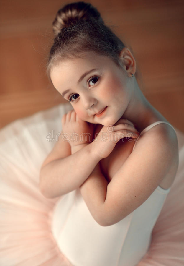 balerina trochę fotografia royalty free