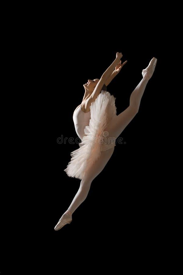 Balerina w skoku obrazy royalty free