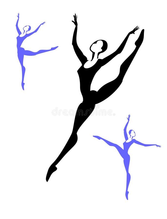Download Balerina3 stock vector. Image of athlete, arts, beauty - 9244185