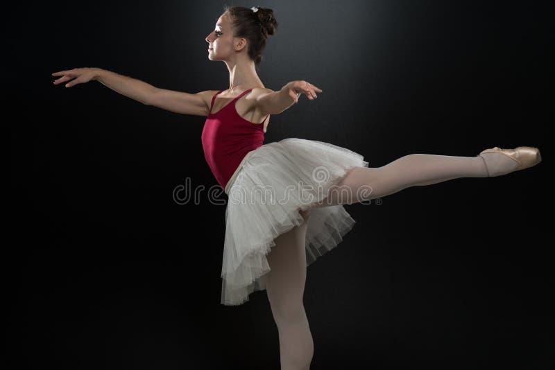 baleriny akwarela piękna dancingowa rysunkowa obraz royalty free
