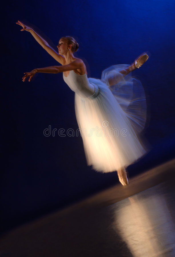 baleriny ruchu wir fotografia stock