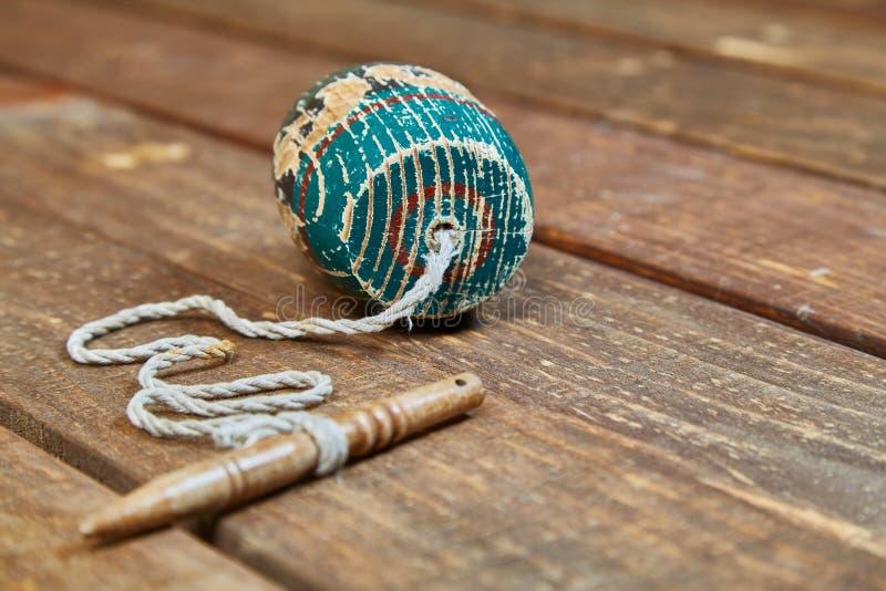 Balero Mexicaans stuk speelgoed stock foto's