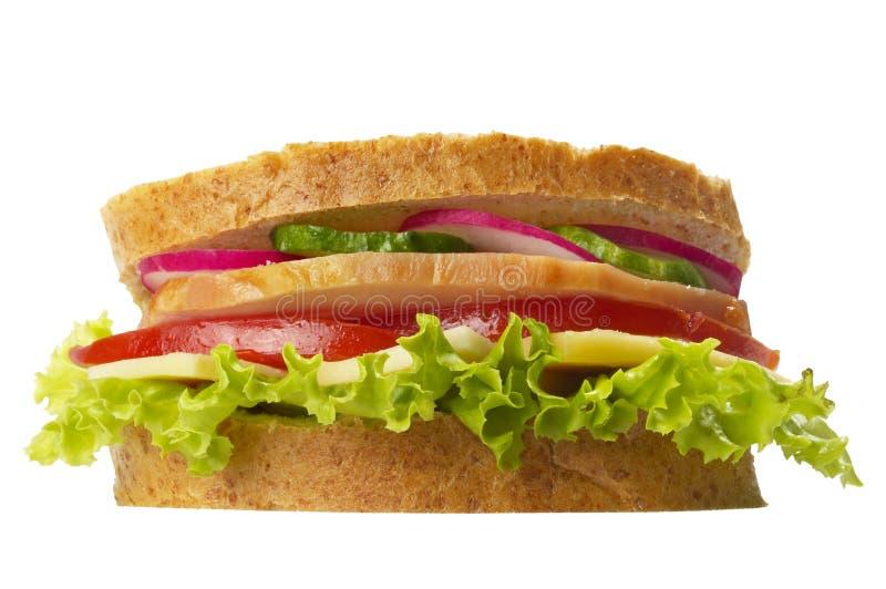 baleron kanapka obrazy stock
