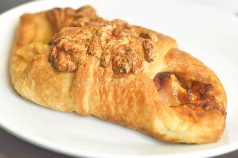Baleronu i sera croissant zdjęcia royalty free