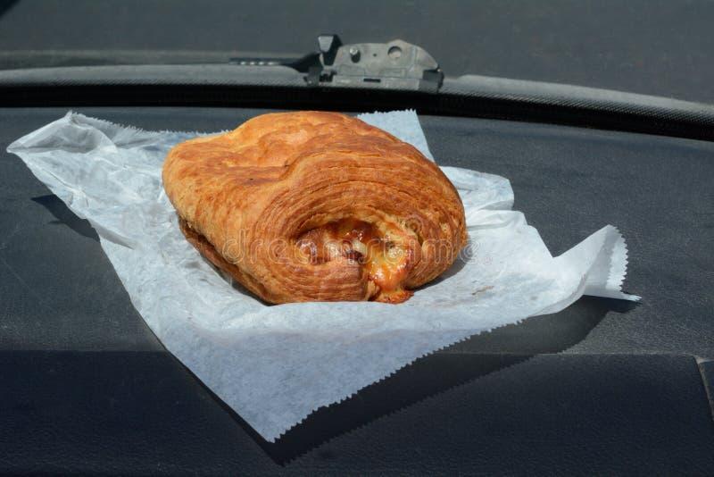 Baleronu i sera Croissant aktywny zdjęcie royalty free
