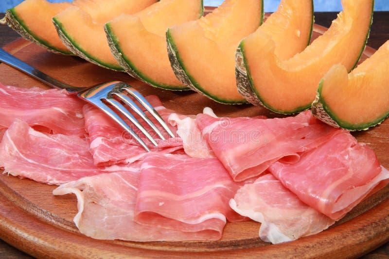 baleronu melon zdjęcie stock