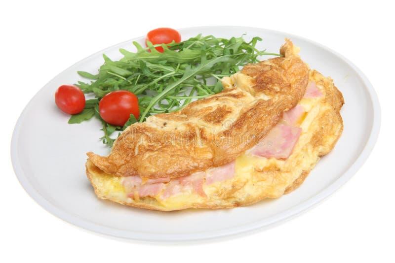 baleronu serowy omlet obrazy stock