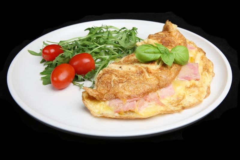 baleronu serowy omlet fotografia royalty free