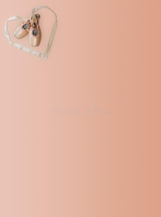 balet list zdjęcie stock