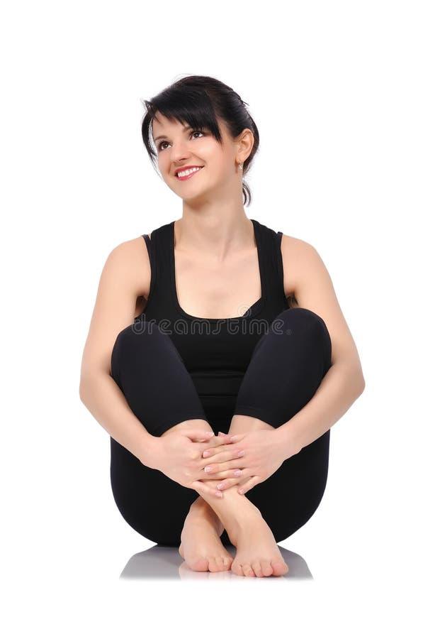 Download Balet-Tänzersitzen stockbild. Bild von künste, sportive - 47101561