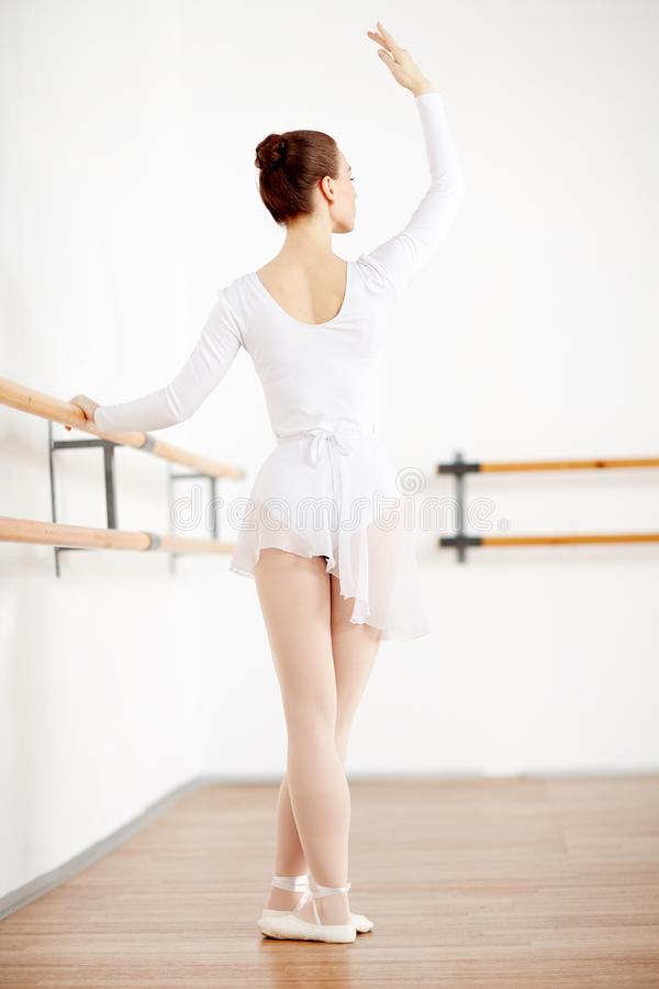 Baletnicza powtórka zdjęcie royalty free