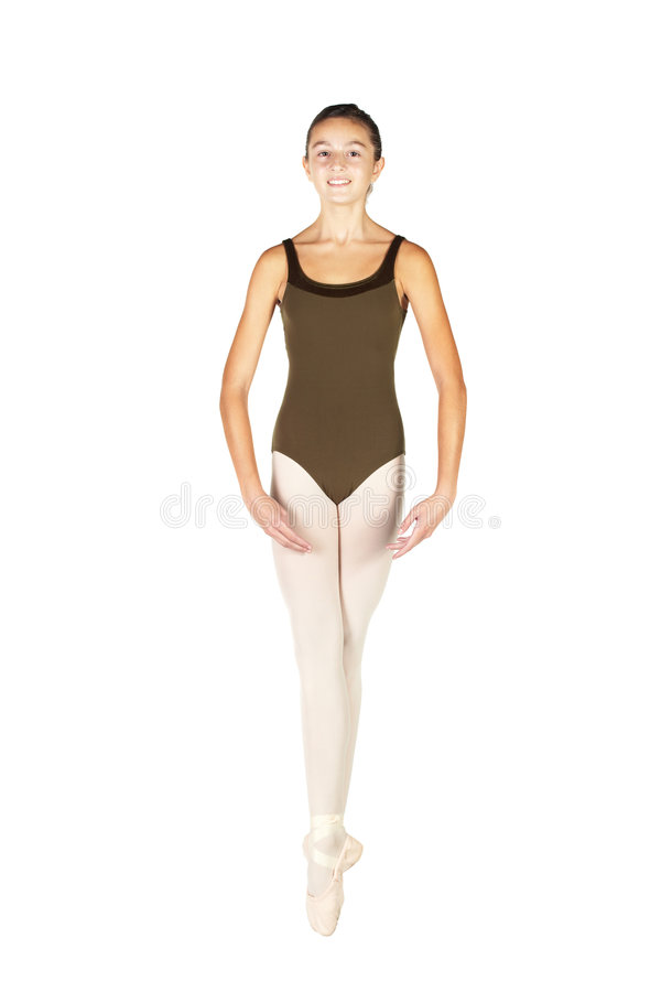 baletniczego tancerza potomstwa fotografia royalty free