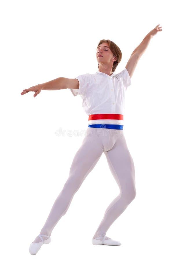 baletniczego tancerza samiec obraz stock