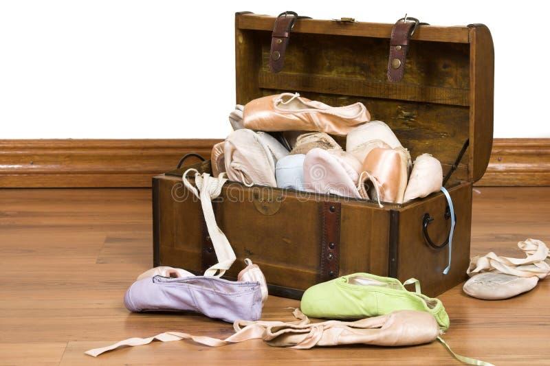 baletniczy buty zdjęcie stock