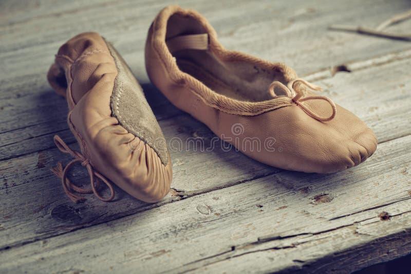 Baletniczy buty zdjęcie royalty free