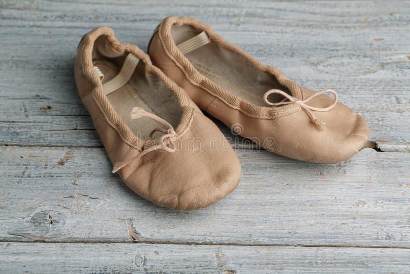 Baletniczy buty fotografia royalty free