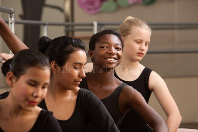 baletniczy dumny uczeń zdjęcie royalty free