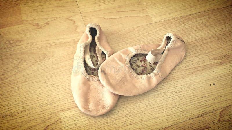 Baletniczy kapcie zdjęcie royalty free
