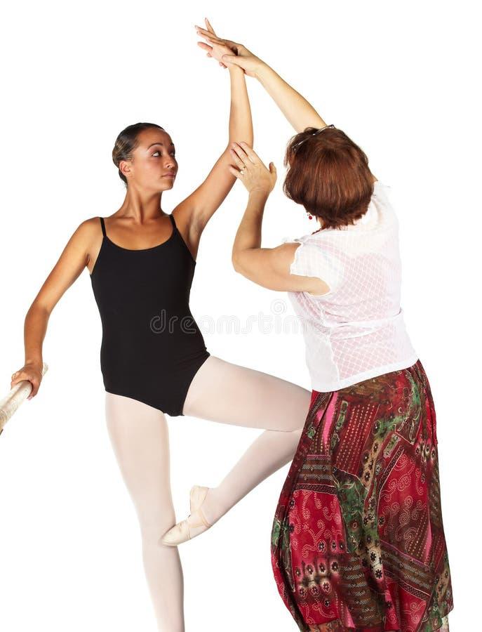 baletniczy kroki zdjęcie royalty free