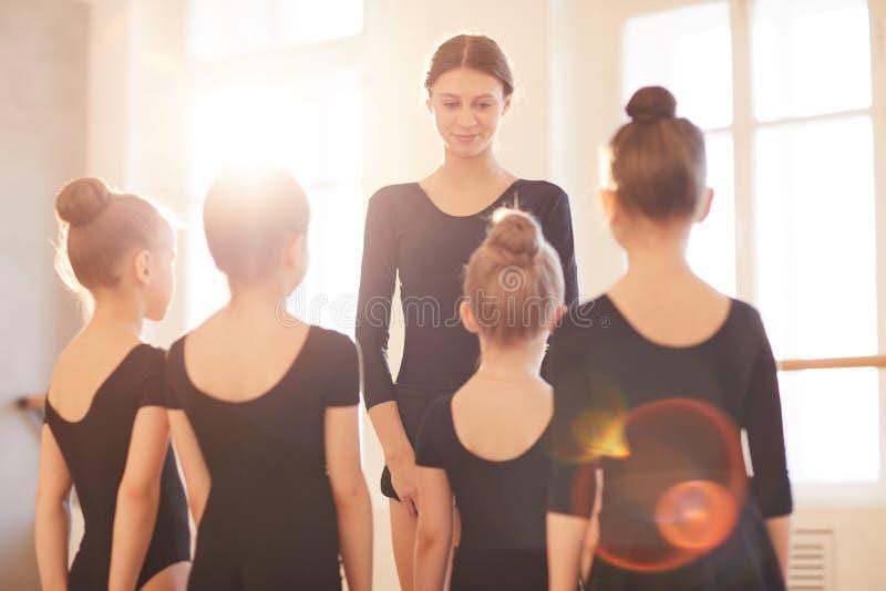 Baletniczy nauczyciel zdjęcia stock