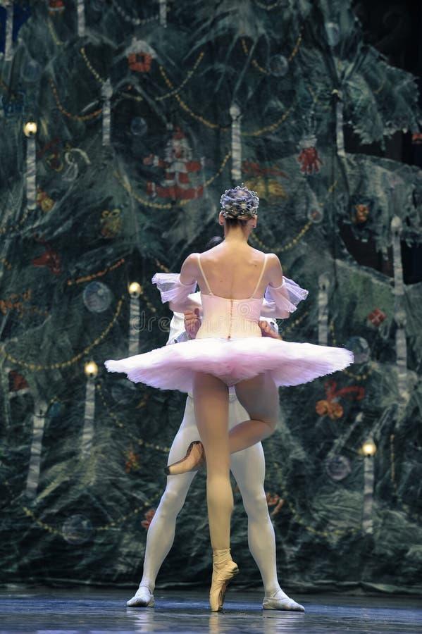 Baletniczy Pas De Deux obrazy royalty free