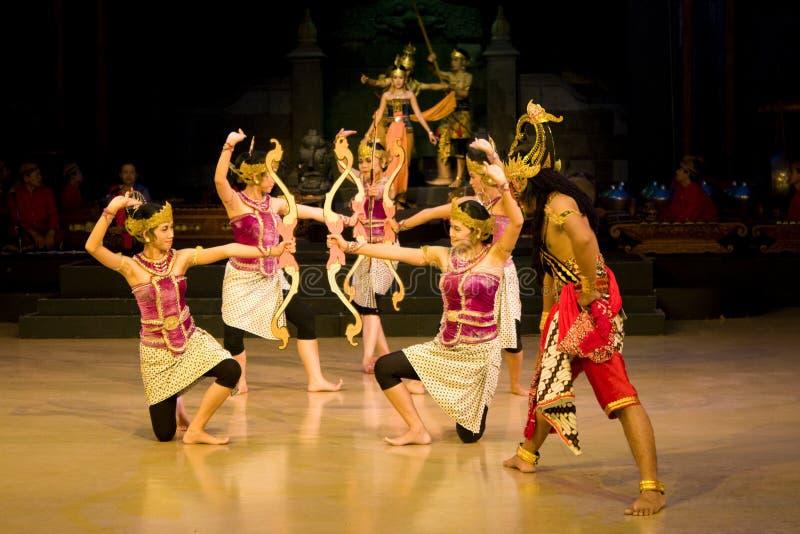 baletniczy ramayana zdjęcie royalty free