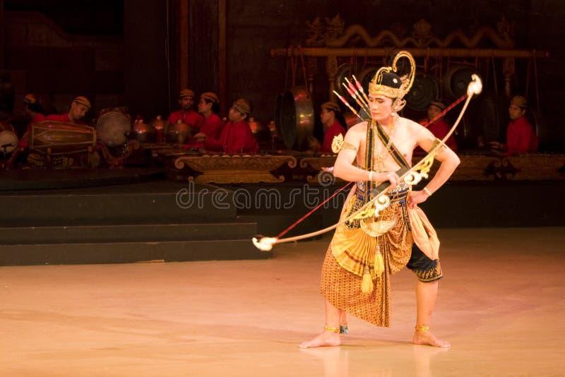 baletniczy ramayana obrazy royalty free