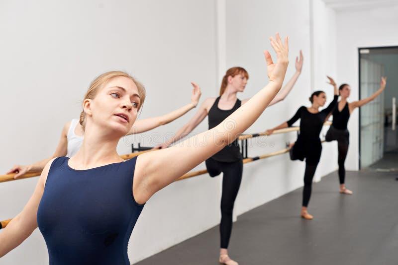Baletniczy ruch obraz royalty free