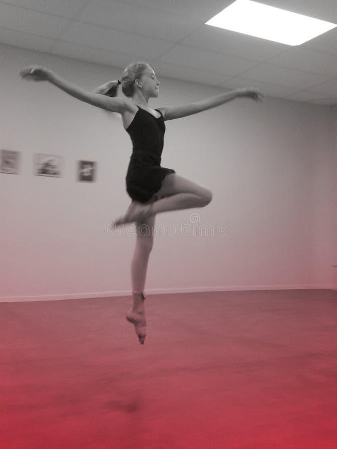 Baletniczy skok zdjęcia stock