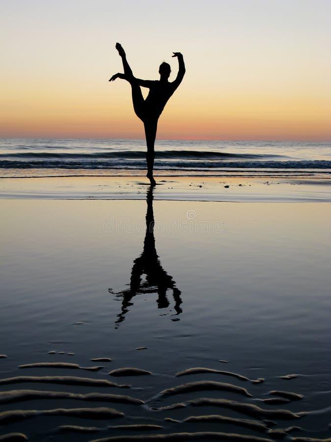 baletniczy target1582_0_ zmierzch zdjęcia royalty free