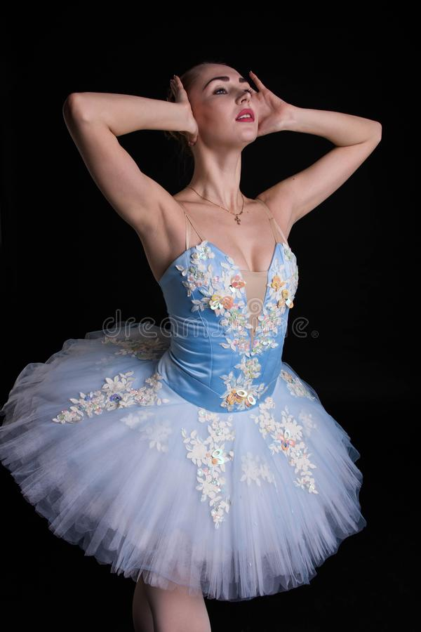 Balett som en konst royaltyfria foton