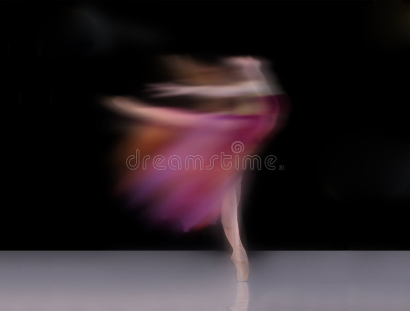balettdansör royaltyfria bilder