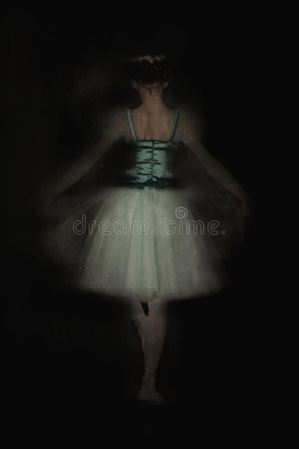balettdansör little arkivbilder
