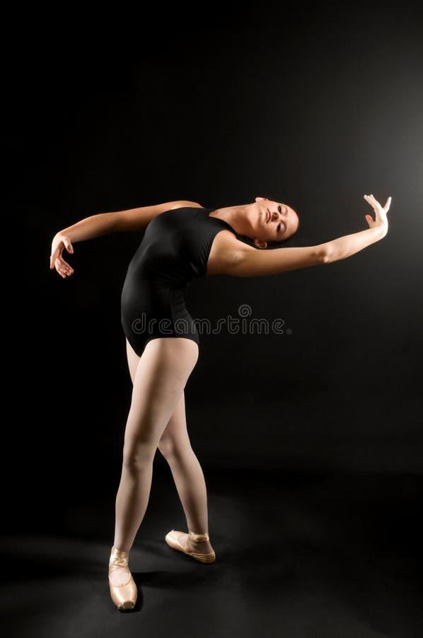 balettdansörbarn arkivbild